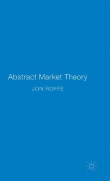 Abstract Market Theory, Hardback Book