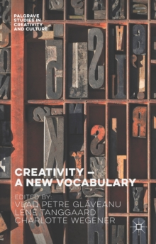 Creativity - A New Vocabulary, Hardback Book