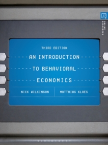 An Introduction to Behavioral Economics, Paperback / softback Book