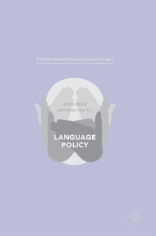 Discursive Approaches to Language Policy, Hardback Book