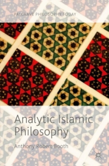Analytic Islamic Philosophy, Paperback Book