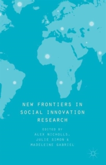 New Frontiers in Social Innovation Research, Paperback Book