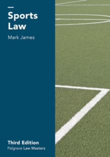 Sports Law, Paperback / softback Book