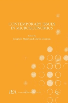 Contemporary Issues in Microeconomics, Paperback Book