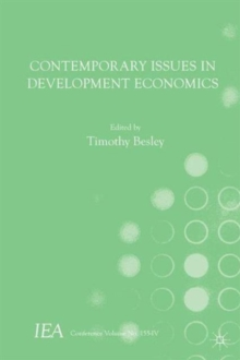 Contemporary Issues in Development Economics, Paperback Book
