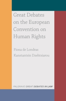 Great Debates on the European Convention on Human Rights, EPUB eBook