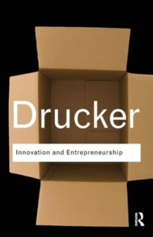 Innovation and Entrepreneurship, Paperback / softback Book
