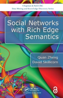 Social Networks with Rich Edge Semantics, Hardback Book