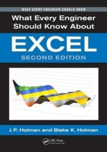 What Every Engineer Should Know About Excel, Second Edition, Paperback Book