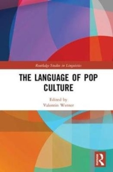 The Language of Pop Culture, Hardback Book