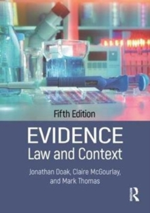 Evidence: Law and Context, Paperback Book