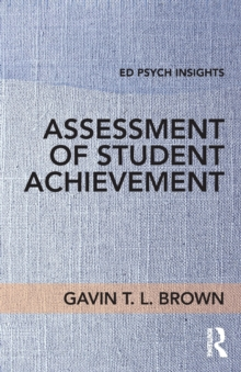 Assessment of Student Achievement, Paperback Book
