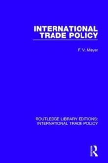 International Trade Policy, Hardback Book