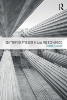 Contemporary Issues in Law and Economics, Paperback Book