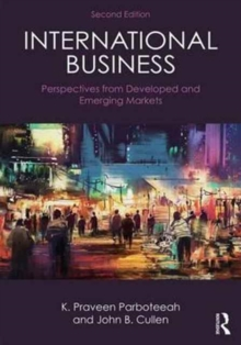 International Business : Perspectives from developed and emerging markets, Paperback Book