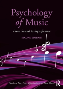Psychology of Music : From Sound to Significance, Paperback Book