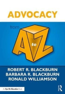 Advocacy from A to Z, Paperback Book
