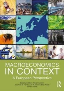 Macroeconomics in Context : A European Perspective, Paperback Book
