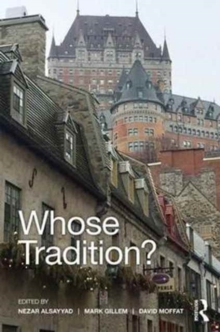 Whose Tradition? : Discourses on the Built Environment, Hardback Book