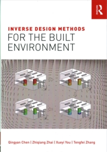 Inverse Design Methods for the Built Environment, Hardback Book