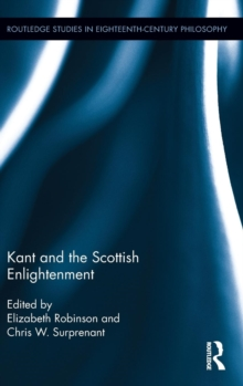 Kant and the Scottish Enlightenment, Hardback Book