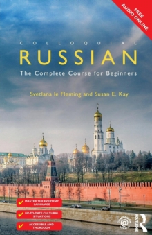 Colloquial Russian : The Complete Course For Beginners, Paperback Book