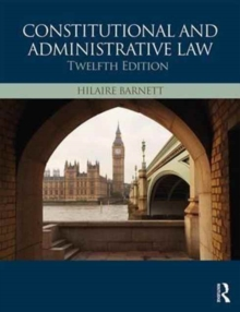 Constitutional & Administrative Law, Paperback Book