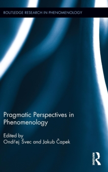 Pragmatic Perspectives in Phenomenology, Hardback Book