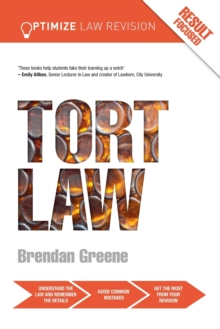 Optimize Tort Law, Paperback / softback Book