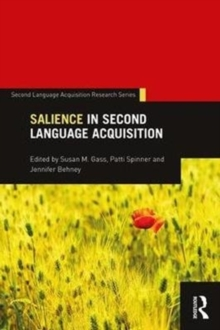 Salience in Second Language Acquisition, Paperback Book