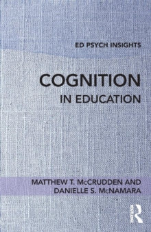 Cognition in Education, Paperback Book
