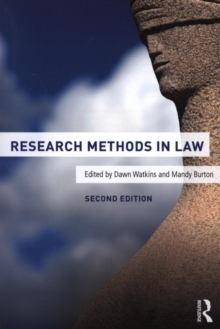 Research Methods in Law, Paperback Book