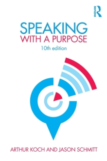 Speaking with a Purpose, Paperback Book