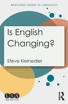 Is English Changing?, Paperback Book