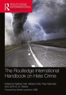 The Routledge International Handbook on Hate Crime, Paperback Book