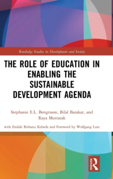 The Role of Education in Enabling the Sustainable Development Agenda, Hardback Book