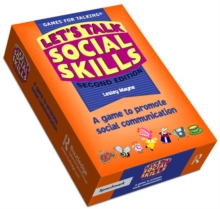 Let's Talk Social Skills : A game to promote social communication, Cards Book