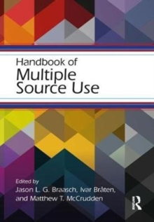 Handbook of Multiple Source Use, Paperback Book