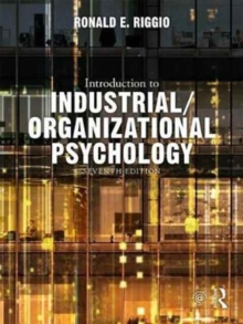 Introduction to Industrial/Organizational Psychology, Hardback Book