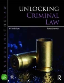 Unlocking Criminal Law, Paperback Book