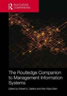 The Routledge Companion to Management Information Systems, Hardback Book