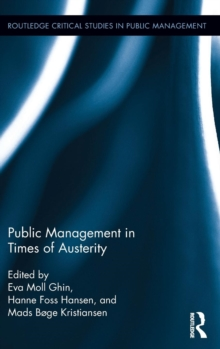 Public Management in Times of Austerity, Hardback Book