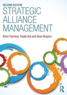 Strategic Alliance Management, Paperback Book