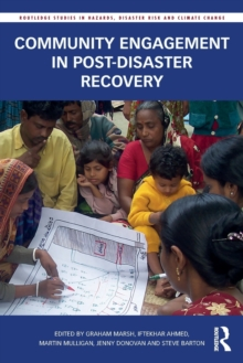 Community Engagement in Post-Disaster Recovery, Paperback Book