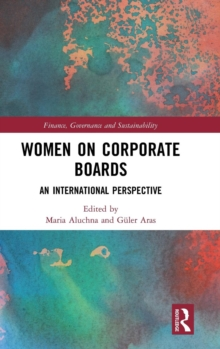 Women on Corporate Boards : An International Perspective, Hardback Book