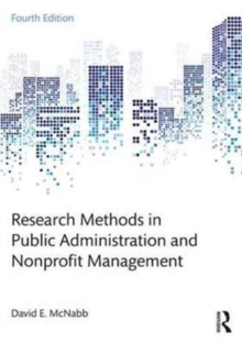 Research Methods in Public Administration and Nonprofit Management, Paperback Book