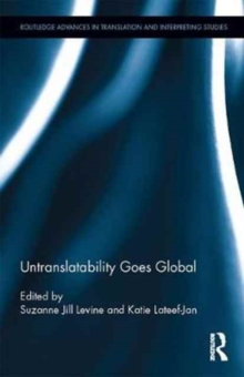 Untranslatability Goes Global, Hardback Book