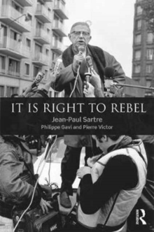 It is Right to Rebel, Hardback Book