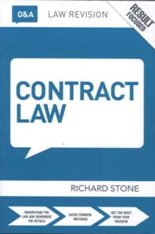 Q&A Contract Law, Paperback / softback Book