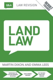 Q&A Land Law, Paperback / softback Book